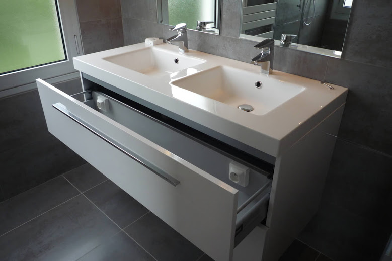 salle de bain nantes : pose de salle de bain à nantes, clef en main - Salle De Bains Nantes
